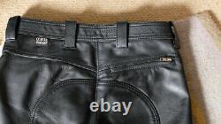 Leather Breeches with White Stripe Mr Chaps Hamburg 32 BLUF