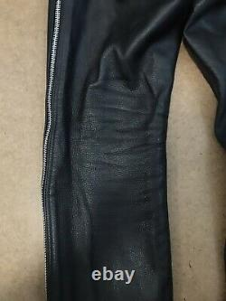Leatherman NYC Chaps Deluxe Outzip Leather Fetish Wear 32