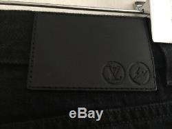 Louis Vuitton Jeans Men Sz. 30 Black Denim Slim Fit Pants Trousers