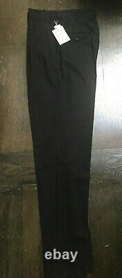 MATSUDA NICOLE TOKYO Vintage 90's Mens Black Cotton Trouser Pant Sz M Rare