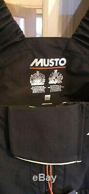 MUSTO MPX GORE-TEX PRO OFFSHORE SALOPETTES TROUSERS. Men's Size L. RRP £425