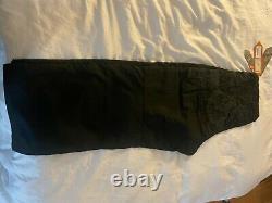 Maharishi snopants large sharkoube applique loose fit black