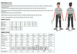Men Work Cargo Trouser Holster Black Heavy Duty Multi Pockets W36 L31