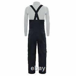 Men's The North Face Black Fuse Brigandine Gore-Tex Bib Ski Snow Pants New $549