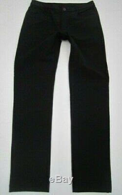 Mens 32x32 Outlier Slim Scholler Doubleweave 4Season black softshell pants