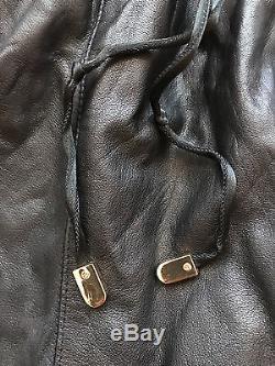 Mens En Noir Leather Jogging pants XXL