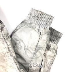 Mens Moncler x Dan Holdsworth Blackout Down Snow Pants Black Size 48 (UK32)
