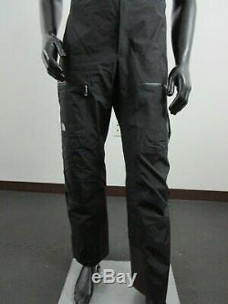 Mens North Face Summit L5 Gore Tex GTX Pro Waterproof Shell Ski Bibs Pants Black