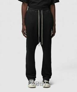 Mens Rick Owens Drkshdw Drawstring Long Black Pant (sa2) Rrp £464.99 Large
