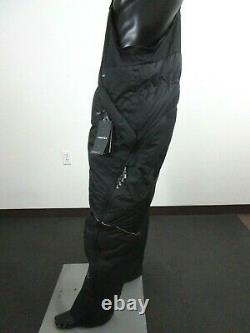 Mens TNF The North Face Himalayan 800-Down Mountaineering Bibs Down Pants Black