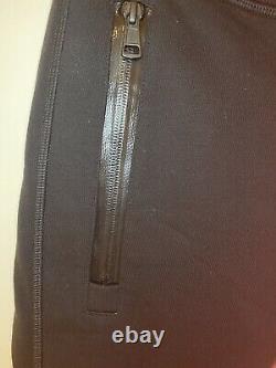 Moncler Black Cotton Sweatpants Track Pants Mens Medium 100% Authentic