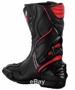 Motorbike Suit Waterproof Motorcycle Jacket Trouser Armoured Biker Leather Boots