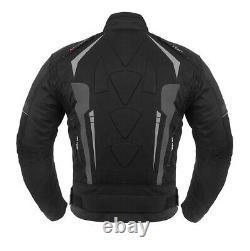 Motorbike Textile Suit Rainproof Motorcycle Riding Suits Armour Jacket Trouser