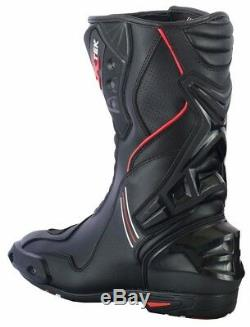 Motorcycle Motorbike Mens Racing Suit Jacket Pant Waterproof Leather Boots Shoes