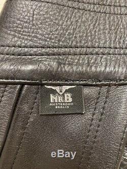 Mr. B Amsterdam Leather Chaps 32 Waist Gay Interest IML