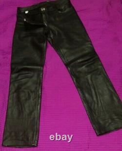Mr B Leather Jeans Rob Gay Fetish Bluf