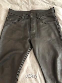 Mr. S Leather Pants 36x30 Excellent condition