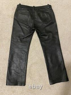 Mr S Leather pants Sz 37