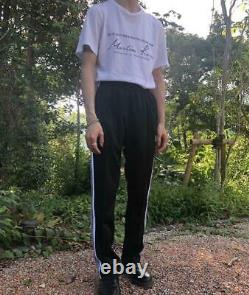 NEEDLES Track Pants Narrow Black Size-S Used from Japan F/S