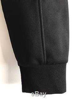 NEIL BARRETT Plain Black Slim-Fit Neoprene Cuff Trousers Size 48 W32 RRP £450