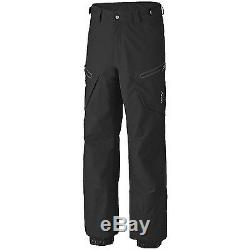 NEW $350 MENS MOUNTAIN HARDWEAR SKI/SNOWBOARD SNOWPOCALYPSE Dry. Q Elite PANTS