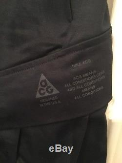 separation shoes e8eac 3875c Nike Nikelab Acg Acronym Cargo Pant Black Sz Xxl Bnwt 829578-010