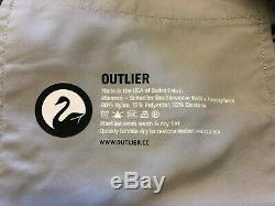 NWOT Outlier OG Classics, Black, 33W x 35 unhemmed
