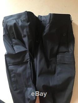NWT $450 Ralph Lauren Black Label Mens Pants Black 38 US (54 Euro)