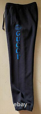 NWT $875 Gucci Mens Sweat Pants DK Gray/Black Size XXXL Made in Italy