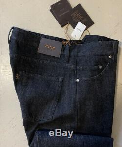 NWT $975 Ermenegildo Zegna Couture Jeans Pants Black SLD 32 US (48 Eu) Italy