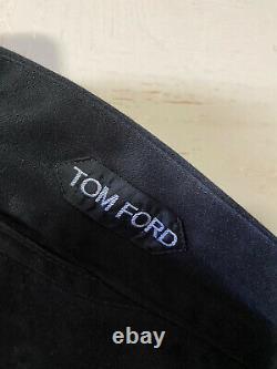 NWT $995 Tom Ford Mens Pants Black 33 US (Measured 34) (50 Eu) Italy