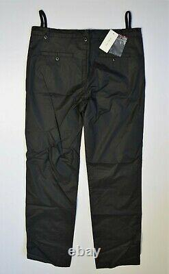 NWT Archival 90's HELMUT LANG Vintage Trousers Pants Nylon Style 42 Black Italy