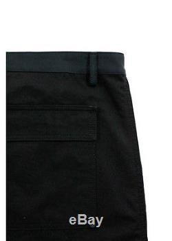 NWT BALENCIAGA Men's Blue Black Cotton Cargo Trousers Pants IT Sz 50 $765 1207