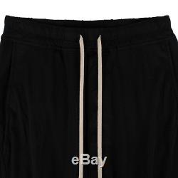 NWT DRKSHDW BY RICK OWENS Black'Prisoner' Drawstring Pants Size L $515