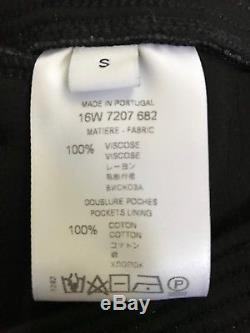 NWT Givenchy Men Neoprene Trousers Black Size Small