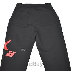 NWT Ian Connor Mens Sicko Born From Pain Logo Sweatpants Track Pants L AUTHENTIC