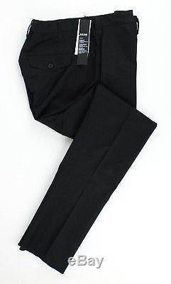 NWT JULIUS 7 Black Skinny Woven Pants Size M $470