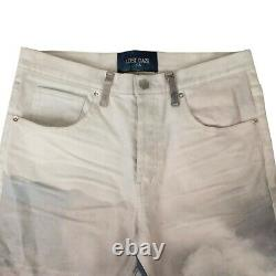 NWT LOST DAZE Multi'Car Crash' Loose Skinny Jeans Pants Size 31 $750