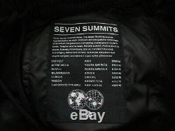 NWT Mens TNF The North Face 7SE Down Pant GTX Gore Tex Seven Summits Black