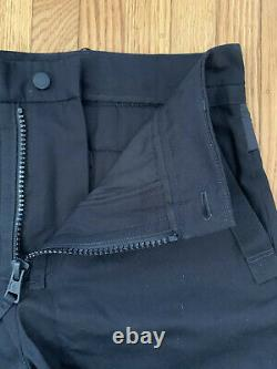 NWT Moncler Genius 5 Craig Green Men Cotton Trousers Black 48 (EU)/ 32 (US)