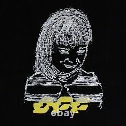 NWT OFF WHITE c/o VIRGIL ABLOH Black Disrupted Logo Crop Sweatpants Size XL $615