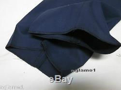 NWT RALPH LAUREN BLACK LABEL MENS ITALY cotton Navy DRESS PANTS 38