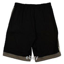 NWT RICK OWENS Black Drawstring Karloff Short Pants Size 42/52 $780