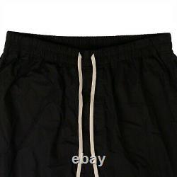 NWT RICK OWENS x DRKSHDW Black Cotton Woven Short Cargo Pants Size XL $573