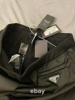 NWT & Receipt Prada Re-Nylon Sweatpants US XL / IT54