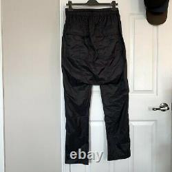 NWT Rick Owens 20SS Drawstring Long Pants Black Size S