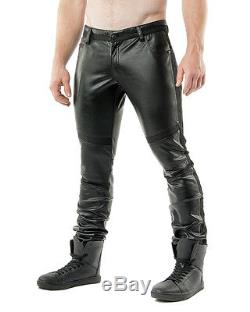 Nasty Pig Men's Throttle Racer Vegan Leather Motorcycle Pants
