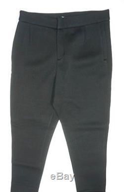 New $350 T By Alexander Wang Black Scuba Neoprene Cuffed Sweat Pants Size M
