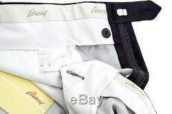 New BRIONI Cortina Solid Black 100% Cashmere Dress Pants 62/46 Fits 44 NWT $895