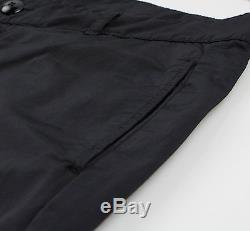 New. DRKSHDW By RICK OWENS Black Cotton Blend Casual Pants Size Small $700